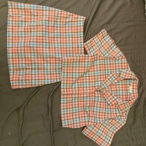 Super rare Vivian top and cara skirt set